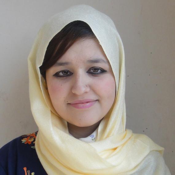 Amina, insegnante