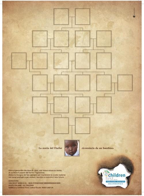 Darfur - La storia del Darfur ricomincia da un bambino