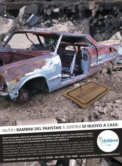 Terremoto Pakistan -Aiuta i bambini del Pakistan a sentirsi di nuovo a casa